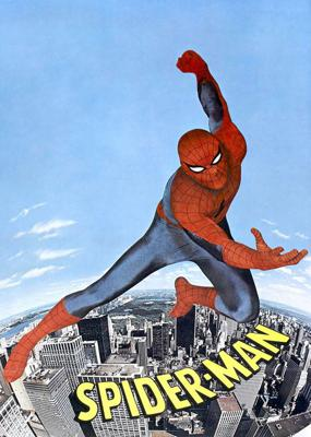 Cover art for Episode 103: Spiderman (1977) with John Trumbull