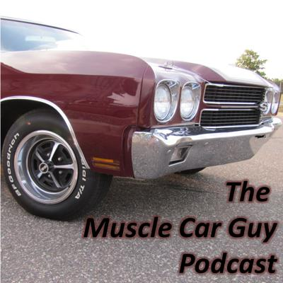 Cover art for Episode 50 - My Top 10 Muscle Cars