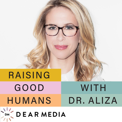 As a parent, do you ever wish someone could just whisper some realistic and trustworthy support in your ear? And not make you feel awful for not having all the answers? Well, that's what I'm here for.   I'm Dr. Aliza Pressman, developmental psychologist, parent educator, asst. clinical professor, and co-founder of both Mount Sinai Parenting Center and SeedlingsGroup. And I'm a mom... trying to raise two good humans myself, so I'm in this with you!   In each episode, we'll go deep (but brief) with both experts and parents to share the most effective approaches and tools and talk about the important bigger picture of raising good humans. My goal is to make your parenting journey less overwhelming and a lot more joyful!   Please join me every Friday for new episodes of Raising Good Humans.