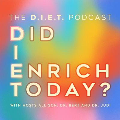 The D-I-E-T podcast explores an important question for those who are pursuing a whole, healthy and happy life. And that question is