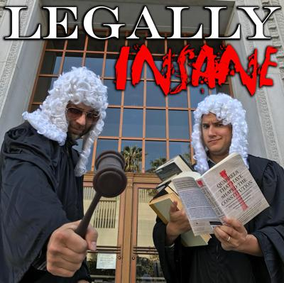 Legally Insane is a deep dive into some of the craziest and dark parts of the legal history of this great country. Our hosts Matt Ritter and Tony Sam come at the topic in a very unique way. Matt is a recovering Biglaw attorney turned comedian with a passion for legal history, Tony has no legal background whatsoever, expect for a few minor brushes with the law. However, he has no idea what Matt is about to discuss before each podcast, so it ends up being a hilarious half hour filled with education and laughs. Covering a wide range of topics like: Eminent Domain, Blue Laws, Stand Your Ground, The Pardon Power, listening to this podcast will make you a great dinner party guest.