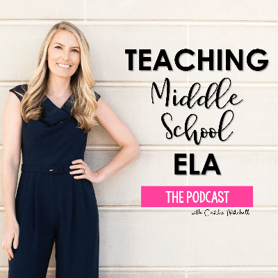Teaching middle school English Language Arts can be one of the most challenging, yet rewarding careers. Each Tuesday, join Caitlin Mitchell, an ELA teacher and curriculum designer as she delivers lesson ideas, shares classroom stories, and interviews fellow educators. If you teach reading and writing to middle schoolers and want to get inspired with some fresh ideas, then this is the podcast for you.