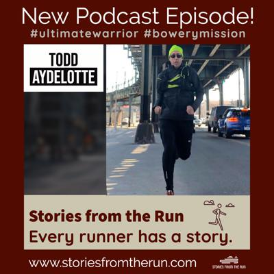 Cover art for Running 26.2 Miles Inside His Apartment for a Great Cause! | Todd Aydelotte