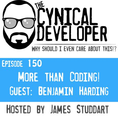 Cover art for Episode 150 - More than Coding