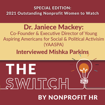 Cover art for Women to Watch 2021: Janiece Mackey Interviewed by Mishka Parkins