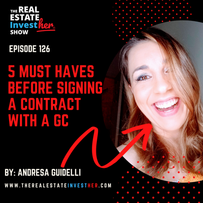 Cover art for EP 126: (MINISODE) 5 Must Haves Before Signing a Contract with a GC