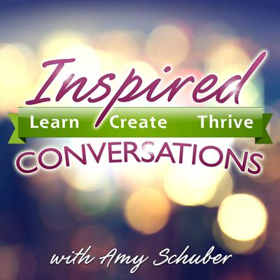 Inspired Conversations is a podcast dedicated to bringing you interviews with today's most influential thought leaders, who are making a difference on the planet through their impactful work. Available 4 times a week. Whether the dialogue is about meditation, nutrition, entrepreneurship, creativity, sustainability or self expression, these conversations are meant to spark your heart and ignite your soul to be more, do more and have more in your life.  You'll gain resources in the Inspired Round of Questions at the end of each episode where Amy dives deep and asks some mindful questions of each guest, sure to influence and surprise you! This collection of mindful conversations with amazing thought leaders will guide you towards living a life inspired by YOU!   You will learn, create and thrive once you listen in! Tune in to catch these high vibrations intended to expand your heart and mind to encourage you to live your most authentic life.