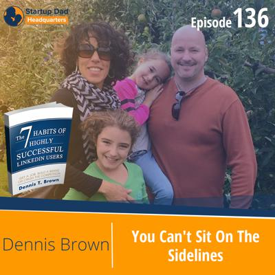 Cover art for You Can't Sit On The Sidelines   Dennis Brown   Episode 136