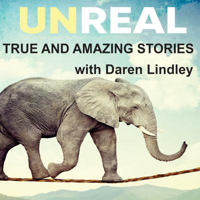 The Unreal Podcast with Daren Lindley tells the true and amazing stories of people from all across the US whose lives have been powerfully changed by the Love of Jesus Christ. These stories are intense and deal with all the real drama life has to offer. This podcast supports Books Behind Bars, a prison ministry dedicated to bringing the gospel to EVERY inmate.
