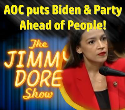 Cover art for AOC Puts Biden & Party Ahead of The People!