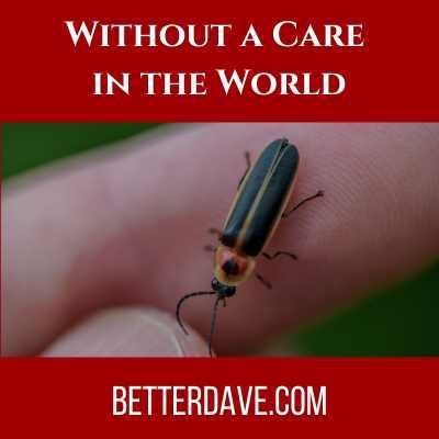 Cover art for Without a Care in the World
