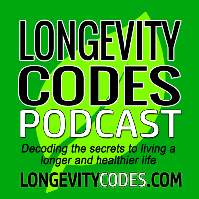 The Longevity Codes podcast helps you discover strategies for how to live a longer, healthier, and more active life. Fred Herbert and Tracy Herbert share tactics from experts, scientists, and researchers on how to live to the fullest. This podcast focuses on quality rather than quantity. Fred and Tracy's emphasis is on helping you get MORE! More years, more energy, more mental clarity, more travel, more health, more independence, more physical strength, more time with family and friends, more of everything that makes life enjoyable and filled with purpose.