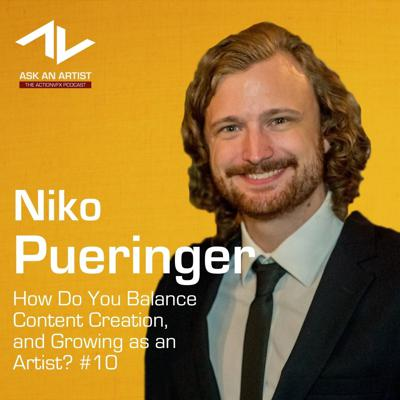 Cover art for How Do You Balance Content Creation, and Growing as an Artist? with Niko Pueringer