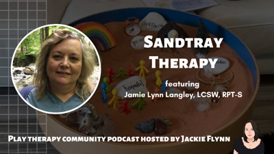 Cover art for 74:  Sandtray Therapy