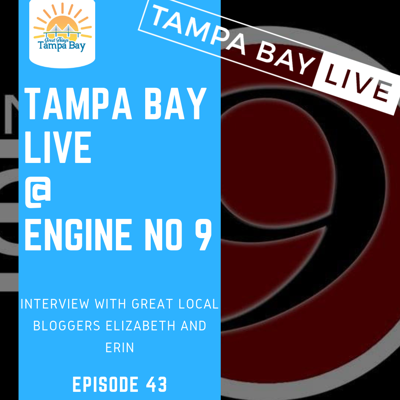 Cover art for E43 Tampa Bay Live Interview at Engine 9 in Saint Petersburg