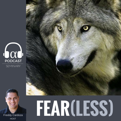 Cover art for Episode 043, Fearless: The Psychology of Fear