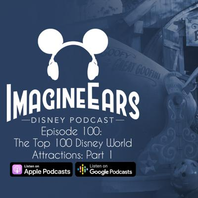 Cover art for The Top 100 Disney World Attractions, Part I