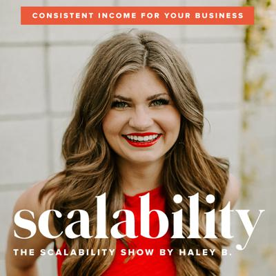 Haley created this podcast for emotionally drained, burnt out entrepreneurs so they can create + grow a business that makes consistent income to fuel a comfy lifestyle without working crazy hours. If you are tired of setting for the hustle heavy lifestyle of the entrepreneur and are raising your hand to consistent income that DOESN'T require you to work crazy hours. She also created a free class and saved a seat for you here: http://scalabilitylounge.com/grow.