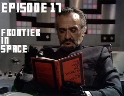 Cover art for Episode 17 - Frontier in Space