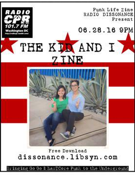 Cover art for 06.28.16 THE KID AND I ZINE PRESENTED BY PUNK LIFE ZINE
