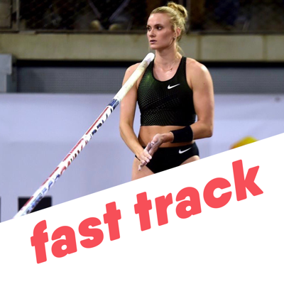 Cover art for Katie Nageotte Training During Covid-19 Fast Track 8