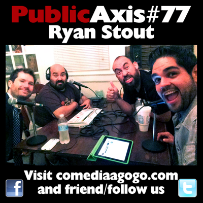 Cover art for Public Axis #77: Ryan Stout