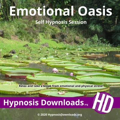 Cover art for Emotional Oasis Self Hypnosis Session