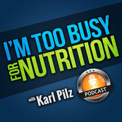 I'm Too Busy For Nutrition is a podcast created for very busy people.  If you are looking for a show that will teach you about the IMMEDIATE and POWERFUL benefits that nutrition can have on your life and business, but are overwhelmed but all the nutrition information out there, then this is the podcast for you.  You learn how to make it PRACTICAL and DOABLE.  The 80/20 rule applies, and we teach you the biggest BANG FOR YOUR BUCK nutrition strategies!
