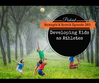 Cover art for SS 280 - Developing Kids as Athletes