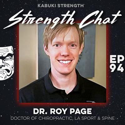 Cover art for Strength Chat #94: Dr. Roy Page