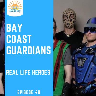 Cover art for Bay Coast Guardians - Real Life Super Heroes RLSH in St Pete
