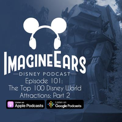 Cover art for The Top 100 Disney World Attractions, Part 2