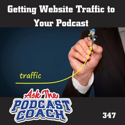 Cover art for Getting Website Traffic to  Your Podcast
