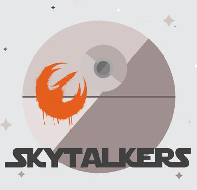 Charlotte and Caitlin are long-time best friends and Star Wars fans who host Skytalkers, a podcast presented biweekly in three parts. Skytalkers covers all of the Star Wars films, television shows, novels, as well as deep dives into characters analysis and themes across the galaxy.  @skytalkerpod www.skytalkers.com.