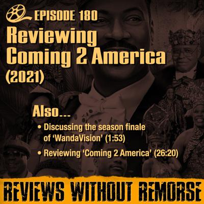 Cover art for Episode 180 - Coming 2 America (2021)