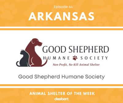 Cover art for Animal Shelter of the Week: Episode 64 – Good Shepherd Humane Society