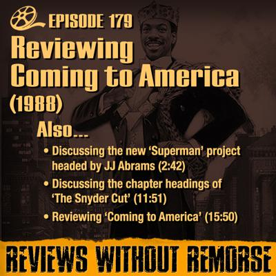 Cover art for Episode 179 - Coming to America (1988)