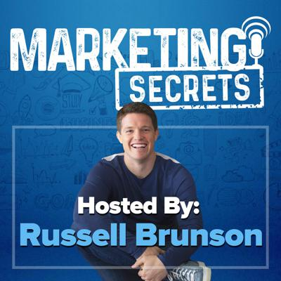 """Welcome to the Marketing Secrets podcast!  This show is for entrepreneurs and business owners who want to learn how to market in a way that lets us get our message, our products, and our services, out to the world… and yet still remain profitable.   Learn from Russell Brunson, the world-famous internet marketer and a co-founder of the largest funnel creation software ClickFunnels.  Inside each episode, Russell shares his biggest """"a-ha moments"""" and marketing secrets with complete transparency. From tough lessons learned, to mindset, to pure marketing strategy, Russell pulls you into his world and shares his personal journey and secrets to growing a business from $0 to $100,000,000 in just 3 years, with NO outside capital!"""