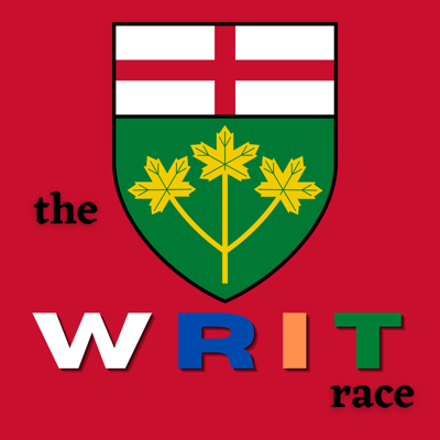 We interrupt this podcast for The WRIT Race!