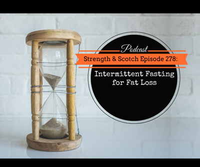 Cover art for SS 278 - Intermittent Fasting for Fat Loss