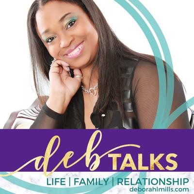 DebTalks is about life, family, and relationship. The ups-downs, joys and heartache are all fair game for candid conversation. This is a place to take off the mask and be real.   Deborah, along with the occasional special guest, share experiences and wisdom to offer a new perspective and a fresh angle.   We are real people just like you. We are not offering medical, psychological, or legal advice. We're sharing our raw truth about marriage, divorce, parenting, loss, and just living life. Why? Because sometimes you just need to know you're not alone.   Join the conversation. Subscribe and let's hang out together.