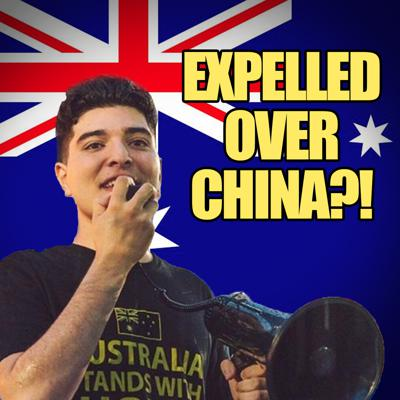 Cover art for #71 Expelled for Criticizing Communist China? | Drew Pavlou
