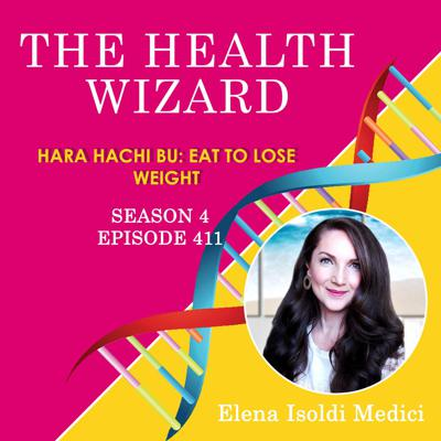 Cover art for 411 - Hara Hachi Bu - Eat to Lose Weight