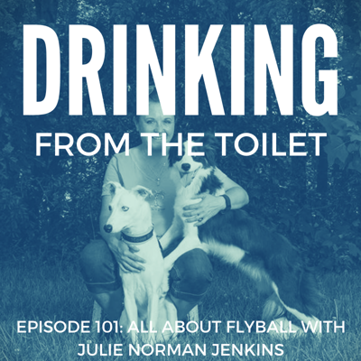 Cover art for #101: All About Flyball with Julie Norman Jenkins