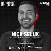 Cover art for 211 Nick Seluk on Turning a Creative Side Hustle into a Thriving Enterprise