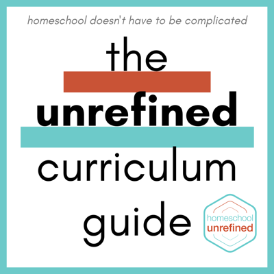 Cover art for Bonus: The Unrefined Curriculum Guide is here!