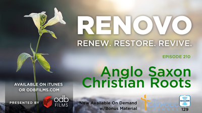 Cover art for Renovo Episode 210: Anglo Saxons & its Christian roots