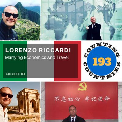 Cover art for Lorenzo Riccardi…Marrying Economics And Travel