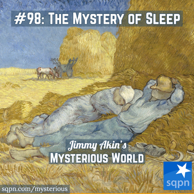 Cover art for The Mystery of Sleep