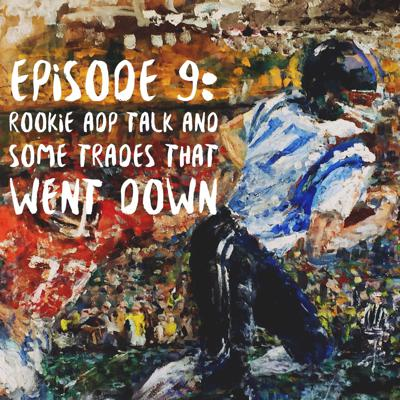 Cover art for Rookie ADP talk and some trades that went down